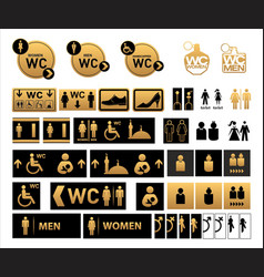 Turkish interior signage concept vector