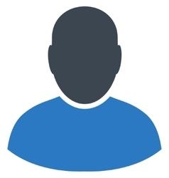 User Flat Symbol vector image