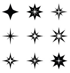 Spark icon set vector