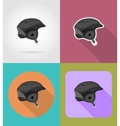 sport flat icons 32 vector image