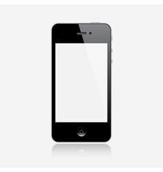 Realistic smartphone vector image vector image