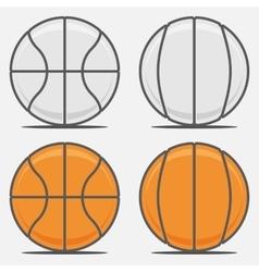Basketball Balls for your Team Logo vector image