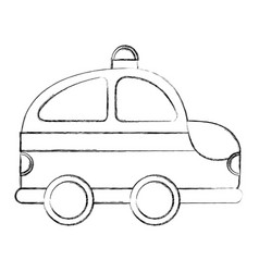 ambulance service isolated icon vector image