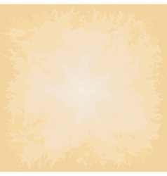 Beige background grungy old paper vector image