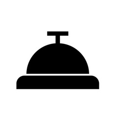 button bell isolated icon vector image