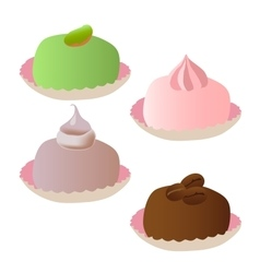 Set of cakes 3 vector