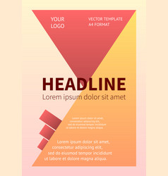 layout business design template banner poster vector image vector image