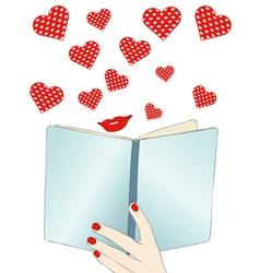 A beautiful love story vector