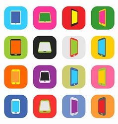 Abstract Colorful Minimal Style Modern Mobile vector