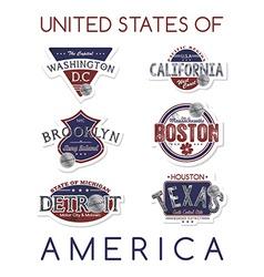 america emblem vector image