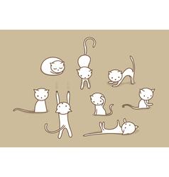 Cats vector