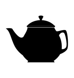 coffee tea pot icon vector image