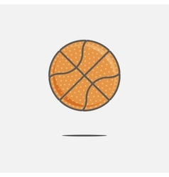 Colorful Basketball Ball vector