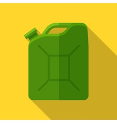 Colorful canister icon in modern flat style with vector