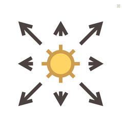 coronavirus disease and epidemic icon design vector image