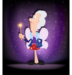 Fairy godmother vector