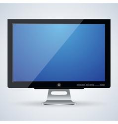 Flat monitor vector