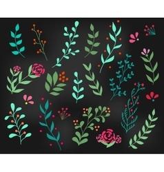 Flourish ornate decoration element vector image