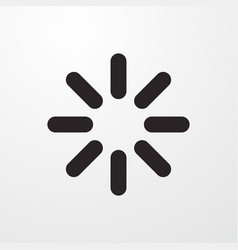Loading sign icon vector