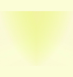 Pale yellow dotted background vector