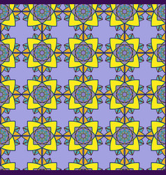Seamless decorative abstract pattern vector