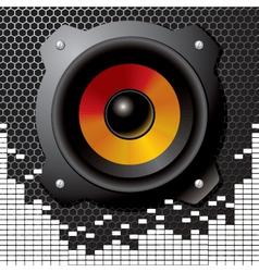 speaker sound vector image