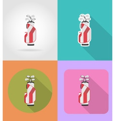 sport flat icons 33 vector image