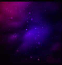 Universe background with stars vector