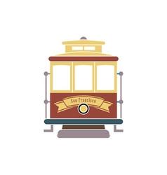 San-Francisco-Streetcar-380x400 vector image