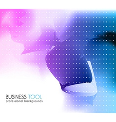 Corporate business brochure or card cover vector image vector image