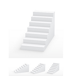 staircases vector image vector image