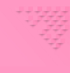 pink pastel square geometric texture background vector image vector image
