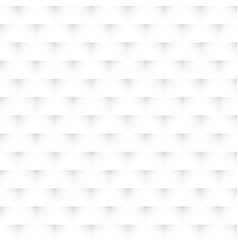 Abstract geometric 3d tile pattern white color vector
