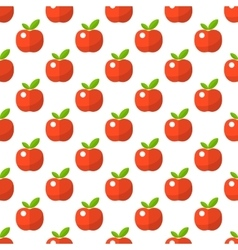 Apple pattern seamless vector