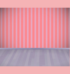 background empty room with wooden grey floor or vector image