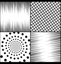 comic book square monochrome concept vector image