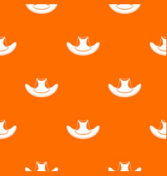 cowboy hat pattern seamless vector image