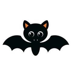 Cute vampire for halloween decoration vector