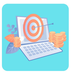 Digital marketing campaign vector