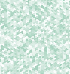 Green triangles abstract geometric background vector