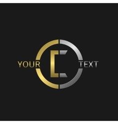 Letter C logo vector