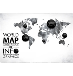 Modern elements of info graphics vector image