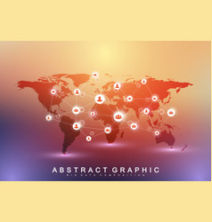 Social media network and marketing concept on vector