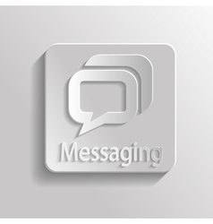 Icon message vector image vector image
