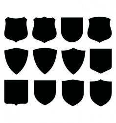 Shields labels vector