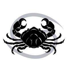 cancer zodiac horoscope astrology sign vector image vector image