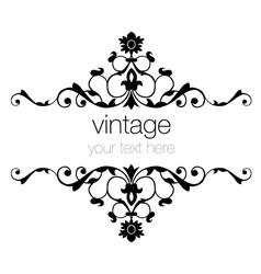 ornate vintage frames vector image