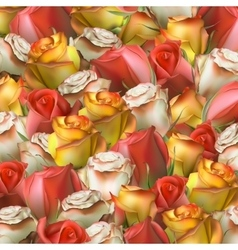 Abstract background of flowers EPS 10 vector image