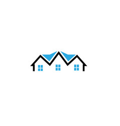 architecture for home and houses for logo design vector image