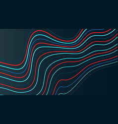 Dynamic gradient line background vector